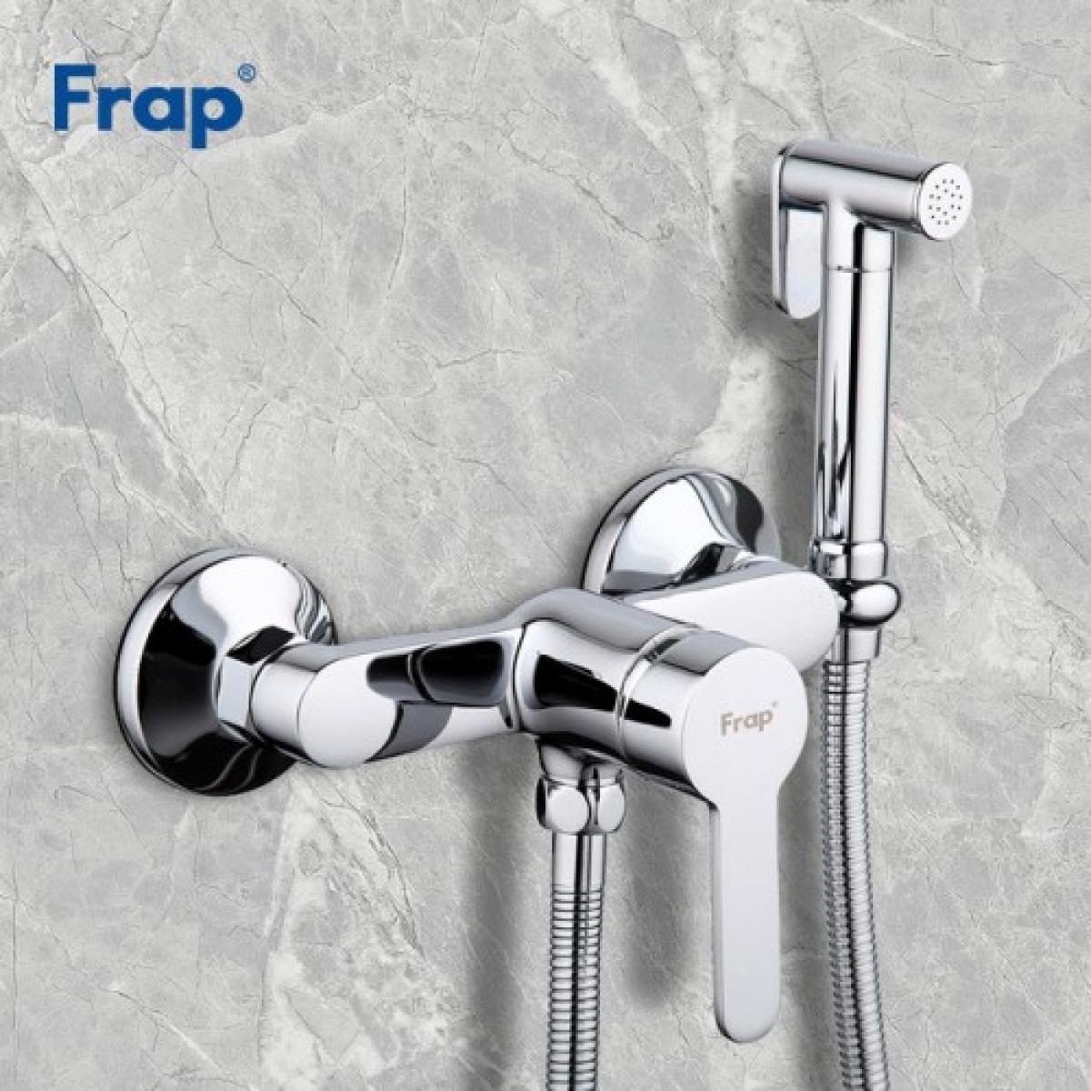 Гигиенический душ со смесителем хром frap f2041