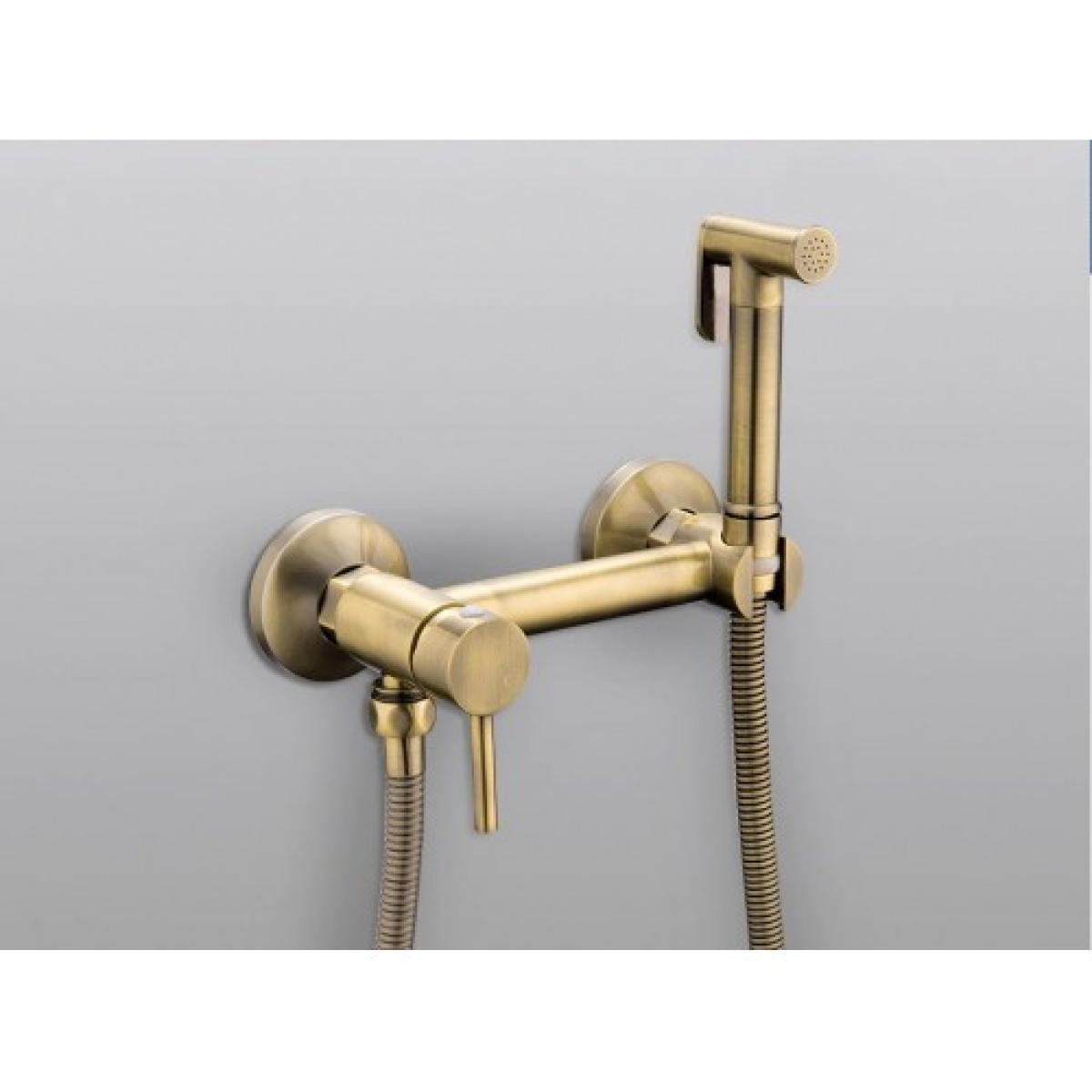 Гигиенический душ со смесителем латунь/бронза frap f7503-4
