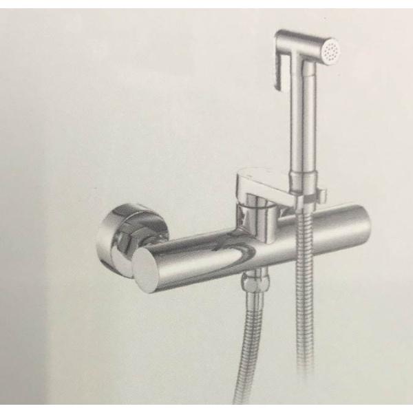 Гигиенический душ со смесителем латунь/хром frap f7509