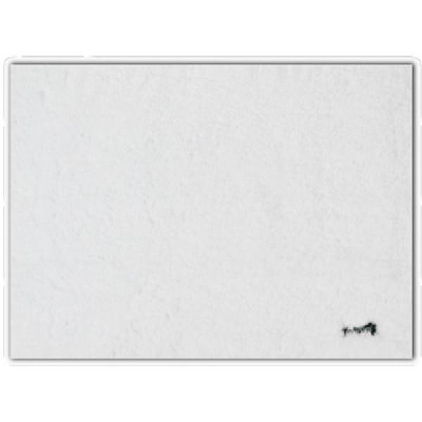 Коврик для ванной полиэстер белый 60х90 см gappo g85503