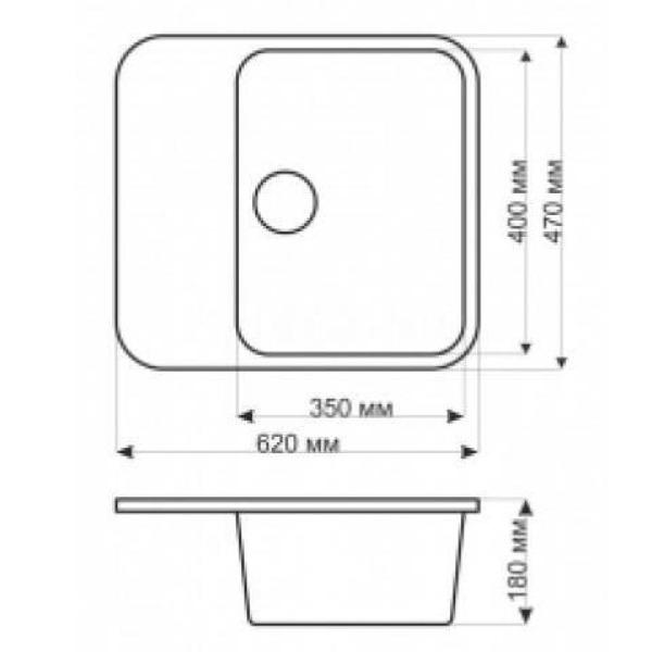 Кухонная мойка gerhans b20