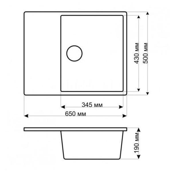 Кухонная мойка gerhans b22