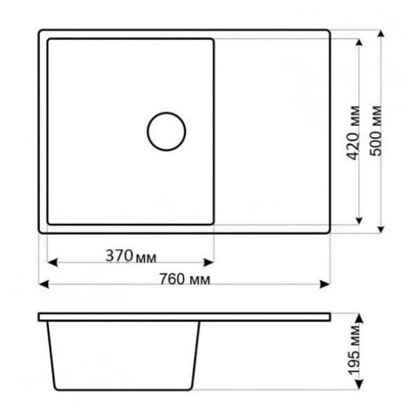 Кухонная мойка gerhans b27