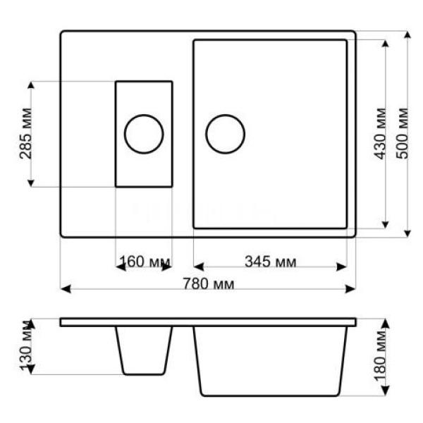 Кухонная мойка gerhans c10