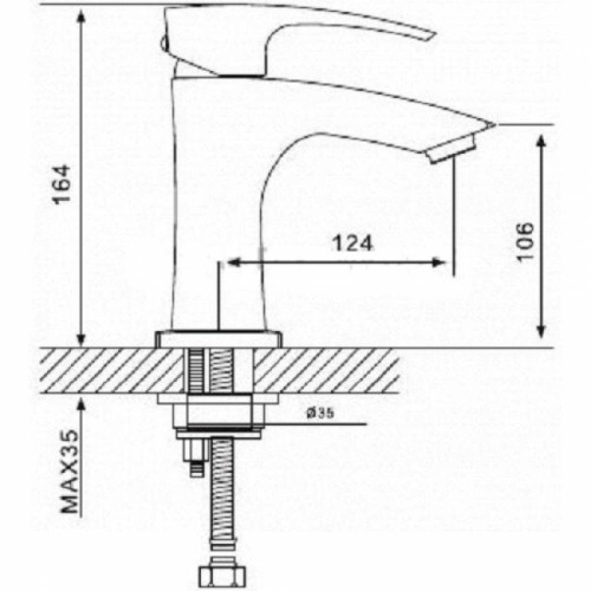 Смеситель для раковины с гигиеническим душем хром gappo g1207