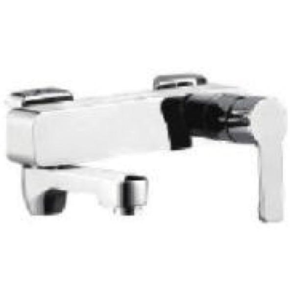 Смеситель для ванны с изливом служит переключателем на лейку хром gappo g3202