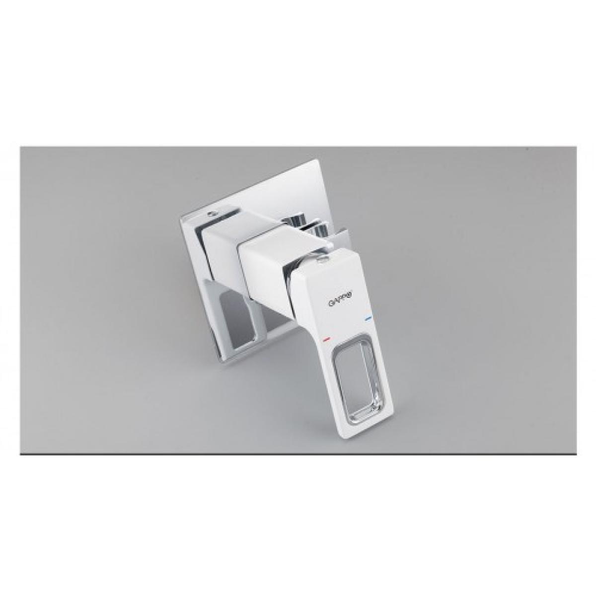 Встроенный гигиенический душ белый/хром  gappo g7217-8